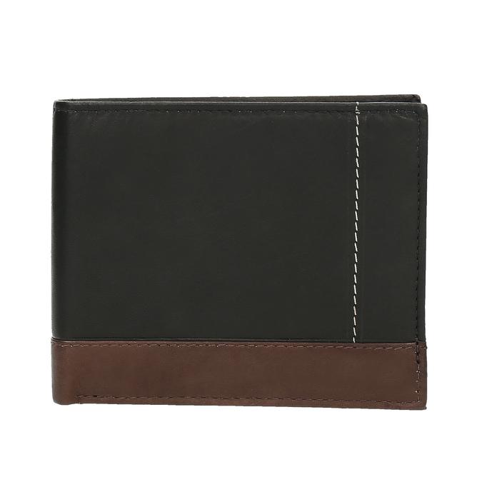 Herren-Geldbörse aus Leder bata, Schwarz, 944-6149 - 26