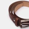 Brauner Herrengürtel aus Leder bata, Braun, 954-3170 - 16