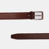 Brauner Herrengürtel aus Leder bata, Braun, 954-3170 - 26