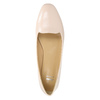Ballerinas aus Leder bata, Rosa, 528-5630 - 26