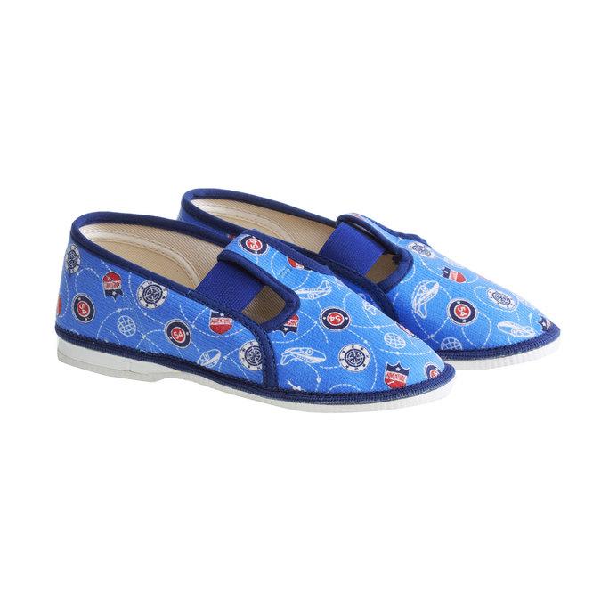 Kinder-Pantoffeln bata, Blau, 279-9011 - 26