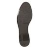 Knöchelschuhe aus Leder mit einer Schnalle bata, Braun, 594-4602 - 26