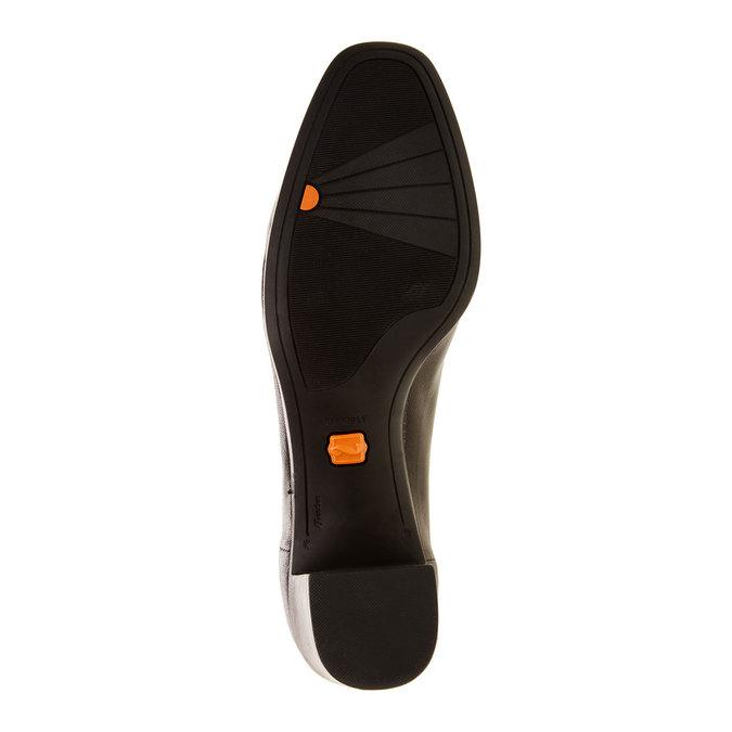 Lederpumps flexible, Schwarz, 624-6706 - 26