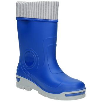 Blaue Gummistiefel für Kinder mini-b, Blau, 292-9200 - 13