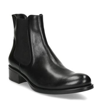 Damen-Chelsea-Boots aus Leder bata, Schwarz, 594-6448 - 13