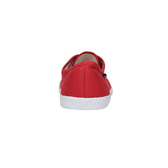 Rote Damen-Sneakers tomy-takkies, Rot, 519-5691 - 17