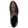 Lederschuhe im Chelsea-Stil bata, Braun, 594-4448 - 17