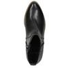 Knöchelschuhe für Damen in der Breite H bata, Schwarz, 696-6616 - 19