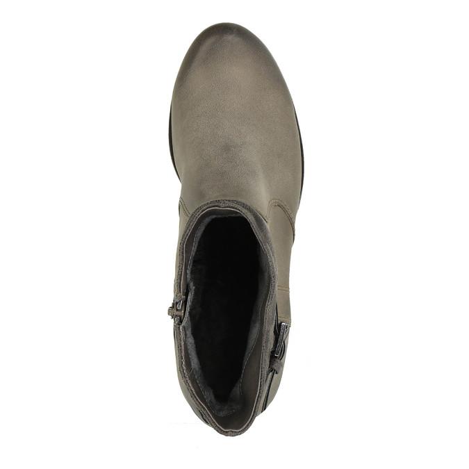 Knöchelschuhe für Damen bata, Grau, 696-2617 - 19