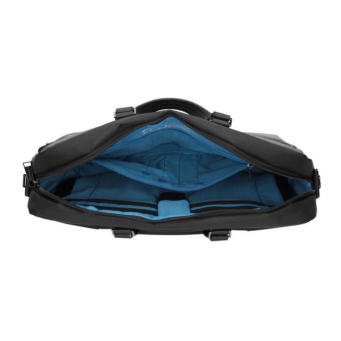 Schwarze Tasche für das Notebook roncato, Schwarz, 969-6640 - 15