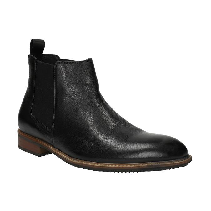 Chelsea Boots aus Leder bata, Schwarz, 894-6666 - 13
