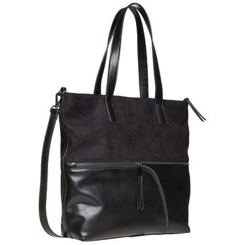 Handtasche im Shopper-Stil bata, Schwarz, 961-6847 - 13