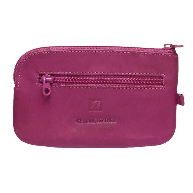 Geldbörse aus Leder bata, Rosa, 944-5161 - 26