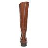 Damenstiefel aus Leder bata, Braun, 596-4608 - 17
