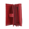 Damen-Geldbörse aus Leder bata, Rot, 944-5168 - 15