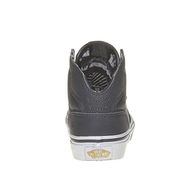 Knöchelhohe Kinder-Sneakers vans, Grau, 401-6310 - 17