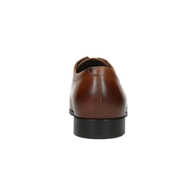 Herren-Halbschuhe aus Leder im Derby-Stil bata, Braun, 826-4736 - 17