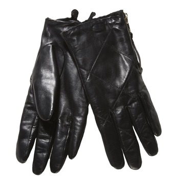 Damen-Lederhandschuhe mit Steppnaht bata, Schwarz, 904-6108 - 13