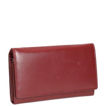 Damen-Geldbörse aus Leder, Rot, 944-5357 - 13