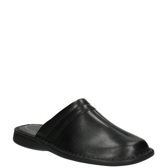 Herren-Pantoletten aus Leder comfit, Schwarz, 874-6600 - 13