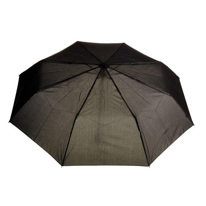 Schwarzer Taschenschirm bata, Schwarz, 909-6600 - 26