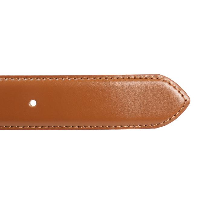 Brauner Herrengürtel aus Leder bata, Braun, 954-3153 - 16