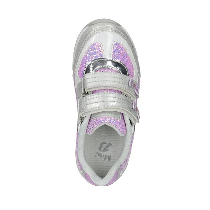 Mädchen-Sneakers mit Glitter mini-b, Grau, 221-2603 - 19