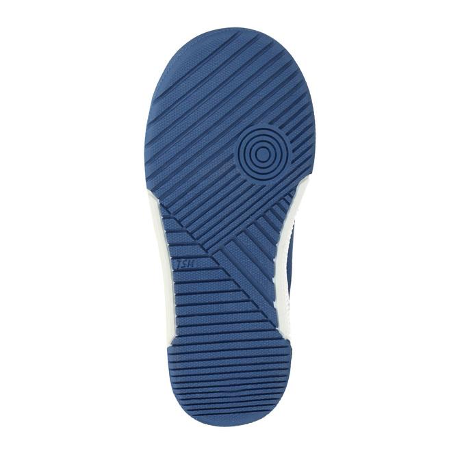 Kinder Leder-Sneakers mit Klettverschluss mini-b, Grau, 214-2600 - 26