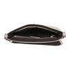Rosa Crossbody-Handtasche mit perforierter Klappe bata, Rosa, 961-5709 - 15