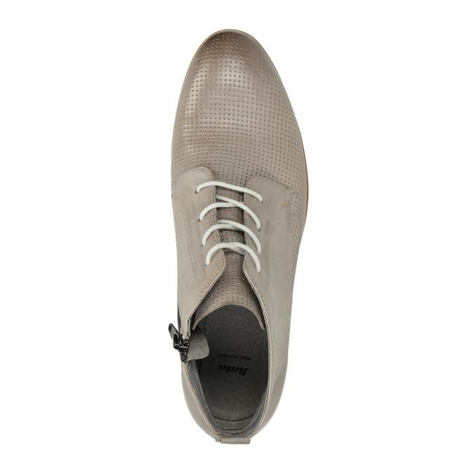 Leder-Stiefeletten bata, Braun, 596-2645 - 19