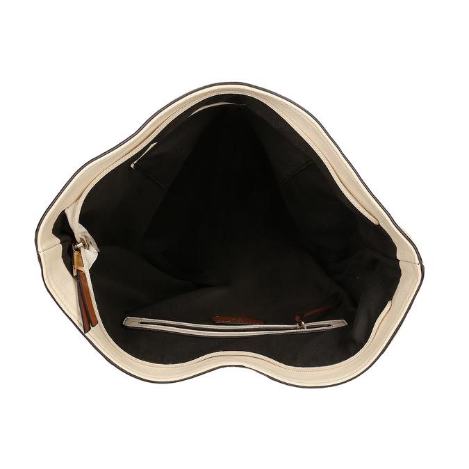 Handtasche im Hobo-Stil bata, Beige, 961-8705 - 15