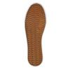 Schwarze Sneakers mit silbernem Streifen north-star, Schwarz, 521-6605 - 26