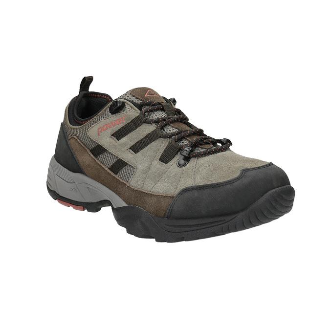 Outdoor-Schuhe aus Leder power, Braun, 803-4118 - 13