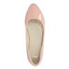 Ballerinas in Lackleder-Ausführung bata, Rosa, 521-5602 - 19