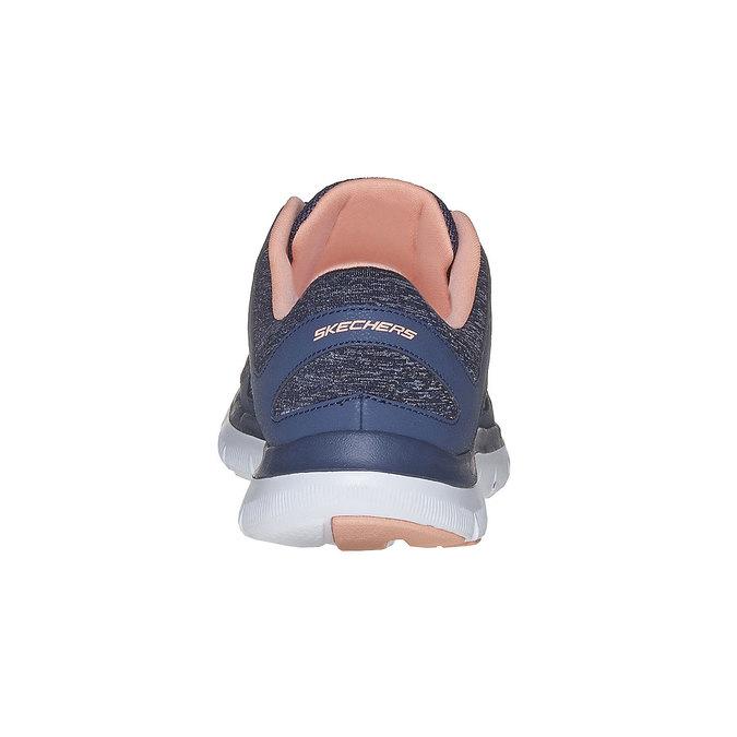 Sportliche Damen-Sneakers skechers, Blau, 509-9963 - 17