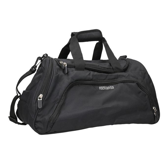 Schwarze Reisetasche, Schwarz, 969-6164 - 13