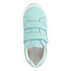 Kinder-Sneakers mit Blumenmotiv mini-b, türkis, 221-7605 - 19