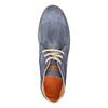Knöchelschuhe aus geschliffenem Leder weinbrenner, Blau, 843-9625 - 19