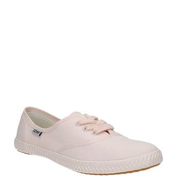 Rosa Damen-Sneakers tomy-takkies, Rosa, 589-5180 - 13