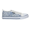 Damen-Sneakers mit Muster north-star, Blau, 589-1441 - 15