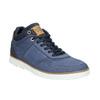Knöchelhohe Sneakers aus Leder bata, Blau, 846-9641 - 13