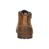 Knöchelschuhe aus Leder mit Reissverschluss bata, Braun, 826-3911 - 17