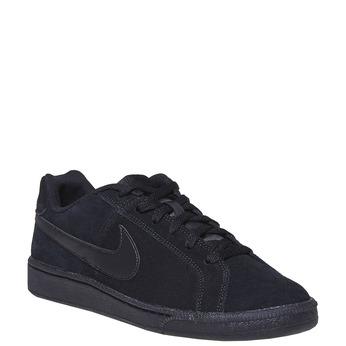 Herren-Sneakers aus Leder nike, Schwarz, 803-6302 - 13