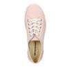 Damen-Sneakers aus Leder weinbrenner, Rosa, 526-5644 - 15