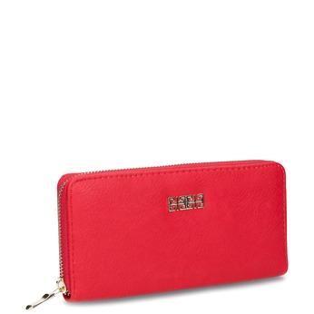 Rote Damen-Geldbörse bata, Rot, 941-5180 - 13