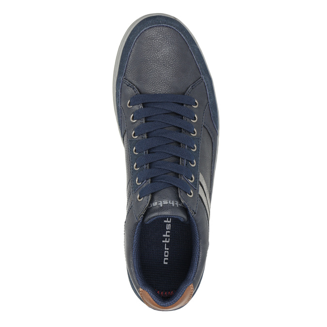 Legere Herren-Sneakers north-star, Blau, 841-9607 - 26