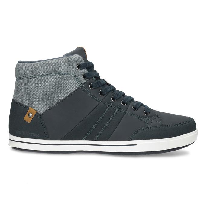Blaue, knöchelhohe Sneakers north-star, Blau, 841-9608 - 19