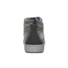 Knöchelhohe Herren-Sneakers bata, Grau, 846-2651 - 17