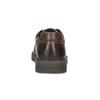 Herren-Lederhalbschuhe mit markanter Sohle bata, Braun, 826-4917 - 15