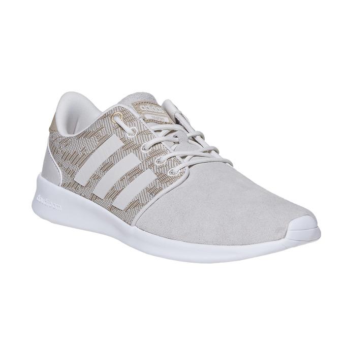 Damen-Sneakers mit Muster adidas, Beige, 503-3111 - 13